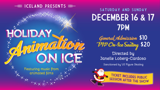 Holiday Ice Show December 16 & 17